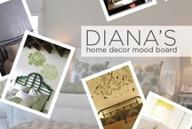 Diana's Home Decor Mood Board / by Cutting Edge Stencils
