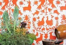 Color Me: Orange / Orange is a powerful color that many prefer to steer clear from when decorating. Here we celebrate tastefully done orange interiors and decorating ideas! / by Cutting Edge Stencils