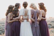 Purple Wedding Theme / Perfect purple wedding ideas, ideal for every season…