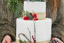 Winter Wedding / Snowy white scenes and roaring fires create the most romantic season for weddings... here are your winter wedding ideas!