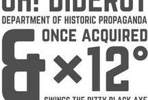 ⊙ Fonts & Typefaces ⊙