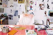 Desk Space / by Launch Fashion-Management