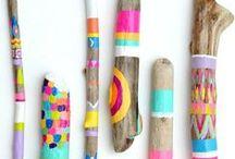 Wood Ideas / Idéias em Madeira / Idéias de como transformar madeira em arte, decoração e móveis.