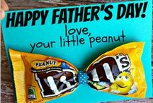 Father's Day / Good thing my Husband has NEVER been on Pinterest!!  He will never see these ideas!!  :-)
