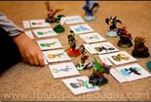 Skylanders Homeschooling / by Pirate Family Fun & Learning