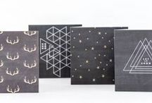 AW for Selfridges Christmas 2015 / AW for Selfridges Christmas 2015 | Abigail Warner greetings and wrapping paper