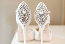Wedding Shoes / Whether you want a comfortable flat or low heel, luxurious lace design or something sparkly - our wedding shoes board has plenty of ideas!