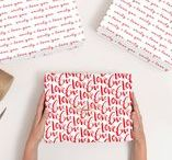 Valentine's Day Personalised Wrapping Paper