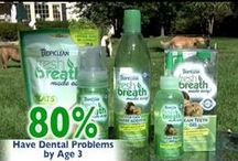 Tropiclean pet products / Fresh breath made easy! Tropiclean is the global brand leader in pet shampoos and dental products with veterinarian approval and clinical trials available to back up claims. Natural ingredients and eco-friendly packaging used in the range also meet the need for green grooming products; all products are formed with 70% organic ingredients and contain 100% naturally derived ingredients, plus all packaging is made from 50% recycled material and is 100% recyclable!