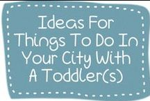 Ideas For Things To Do In Your City With A Toddler(s) / Pin your ideas for things to do, places to go with a toddler(s) in your city. We are based in Bangkok, Thailand and would love to hear from mums around the world!