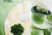 Green Inspiration Board / Your green wedding in green colour
