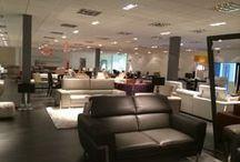 Modern Showroom / Creating the right look in a modern furniture showroom