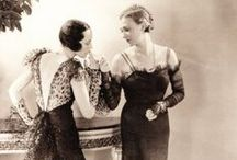 1930s glamour / Hollywood and fashion stars from the 1930s.