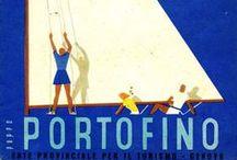 Liguria - Vintage Travel Posters & Brochures / Materiale promozionale dagli archivi degli Enti Provinciali per il Turismo e delle Aziende di Soggiorno liguri, conservati presso l'Archivio storico della Regione Liguria.