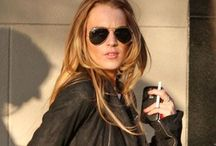 . Lindsay Lohan . / I love her style.