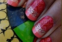 Indian-Inspired Nail Art / A look at unique designs for nails that have A South Asian touch!