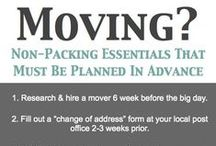 It's Moving Day! / Tips and hints to make your house move stress free.