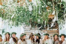 Logan + Marie Wedding / Wedding Planner: Dawn McLaughlin; Photography: Nhiya Kaye Photography; Flowers: Wild Peony Design; Decor: Kelle Safford; Dress: Adina's Bridal; Make up: Sarah Jones; Hair: Michelle Jones