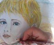 Desene / drawings , pastel, sketch, illustrations