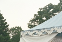 Wedding Tents / Wedding tent inspiration