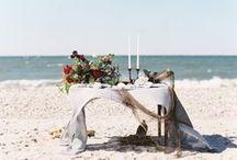 Beach Wedding Details / Beach wedding ideas