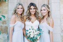 Bridesmaids & Flowergirls / So many incredible choices for bridesmaids and flower girls - Here are just a few of the beautiful options I have found on pinterest.