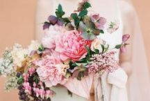 Wedding Bouquet / So many beautiful flowers to choose from.... And so many styles ..