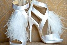 Wedding Shoes / So many beautiful designs to choose from here are just a few of my favourites.