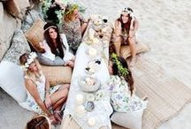 Bohemian Wedding 'Love' / I live in Byron Bay - Australia - alternative lifestyle, boho, hippie, free-love for all kind of place - and I have always had a love of the boho, rustic style of wedding... I hope you enjoy the inspiration I have found through the wonderful world of Pinterest.