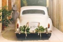 Wedding Cars / Always great to have an amazing entry and exit car for the big day..