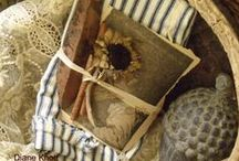 Primitive Touches / Simple, uncluttered, warm, homey, comforting country prim.... / by Diane Knott
