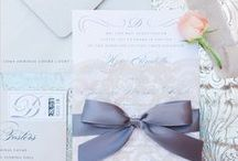 Save the Date and Wedding Invitation ideas / There are so many fun, romantic and beautiful ways to invite your guests to your wedding.. Here are just a few ideas.. / by Byron Bay Celebrant Michelle Shannon