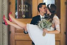 City Hall Wedding / Stylish ideas for a chic City Hall wedding. / by Snippet & Ink