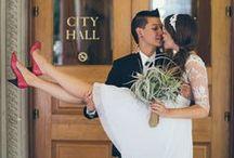 City Hall Wedding / Stylish ideas for a chic City Hall wedding.