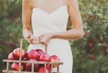 Apple Themed Wedding Inspiration / Apple themed wedding inspiration