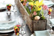 Inspiration Tables de Printemps / Une sélection d'idées et #astuces pour sublimer votre table de #printemps