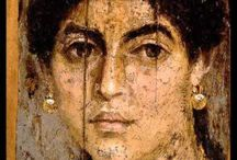 "FAYOUM PORTRAITS / «The Mysterious Fayum Portraits» ""The illusion, when standing in front of them, is that of coming face to face with someone one has to answer to—someone real."" Euphrosyne Doxiadis,"