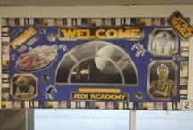 Star Wars Theme / Bulletin Boards and other educational items.