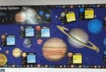 Space Theme / Space bulletin boards and other educational items.