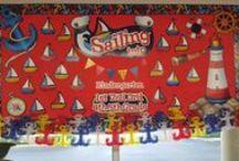 Nautical Theme / Nautical bulletin board ideas and more.