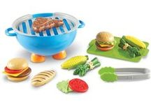 Pretend and Play / All the dress up, play food and toys for your imagination needs.