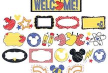 Mickey Mouse Theme / Mickey Mouse bulletin boards and accessories.