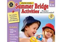 Summer Activities / Curriculum / What you need to keep your kids learning over the summer.