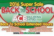 Back to School Sale 2016 / Back to School Sale 2016