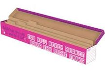 Storage / Storage for bulletin board kits, posters, trimmers and more.