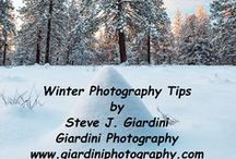 Giardini Photography Photography Tips / Steve J. Giardini is an experience landscape and nature photographer. He finds comfort in wild places and gets great pleasure traveling the backcountry by foot, snowshoe, ski, kayak, and bicycle in search of stunning scenery to photograph. Based in Bend, Oregon Steve's backyard is mountain peaks, high desert terrain, and river valleys.  You'll find his tips practical with an emphasis on safety.