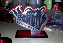 Trophies & Medals / We custom build our trophies and Medals to your specifications and to fit your budget.