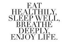 Healty & sport / A good lifestyle begins with you!