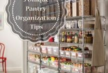Kitchen & Pantry Shelving and Organization / Kitchen and Pantry Decor, DIY Ideas and Storage