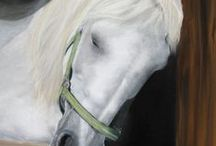 Pferdeportrait - Horse Paintings / Tierportrait Simone Hofmann - Animal Paintings. Pferdeportrait, gemalt mit Pastellkreide. Equine art - Horse portraits in pastel